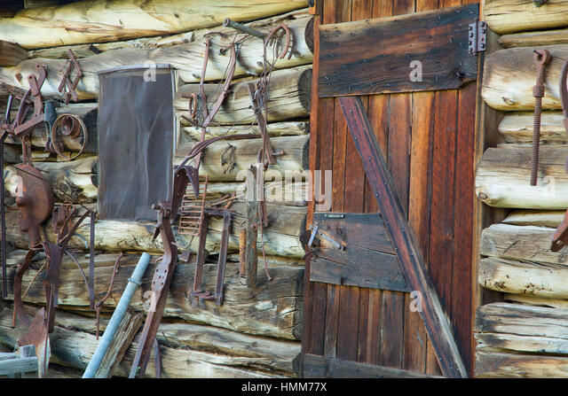 Storage Building/Tack Room, Riddle Brothers Ranch National Historic  District, Donner Und Blitzen