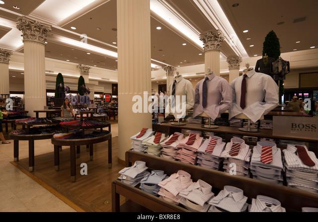 Marshalls department store men's clothing