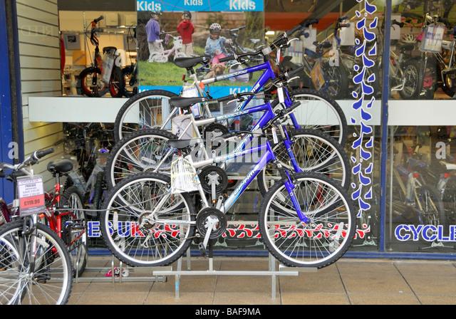 Bicycle Shop Display Stock Photos Bicycle Shop Display Stock