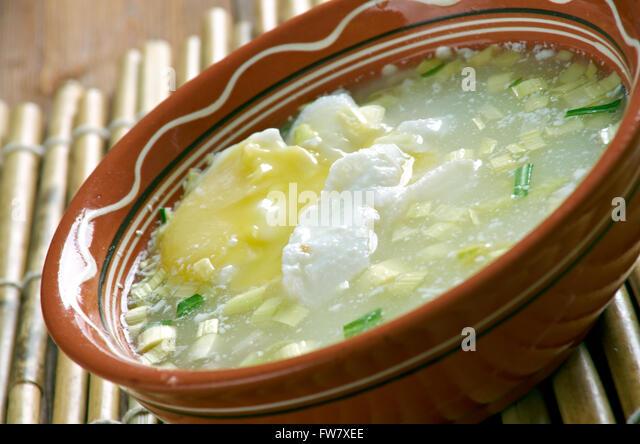 Poached Egg Soup (Changua Con Huevo) Recipe — Dishmaps