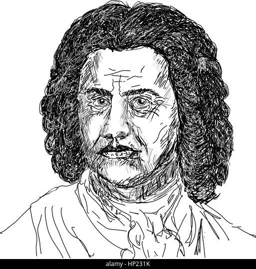 johann sebastian bach music composer stock image