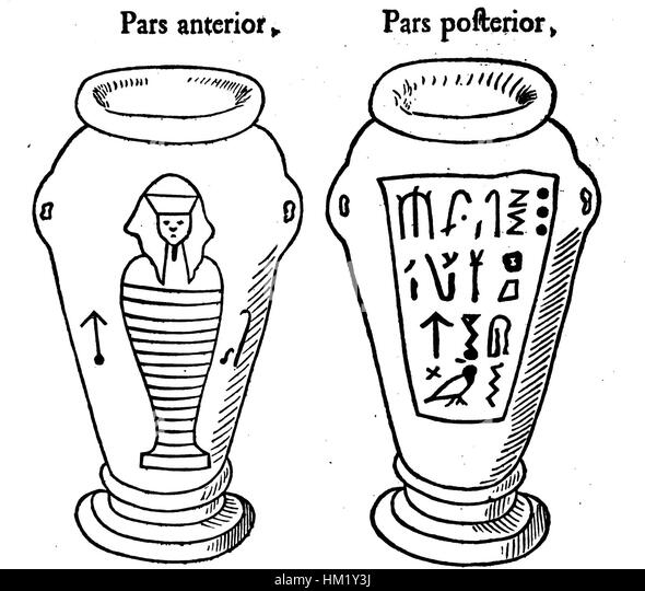Egyptian Canopic Jars Coloring Page Pages Sketch Coloring Page