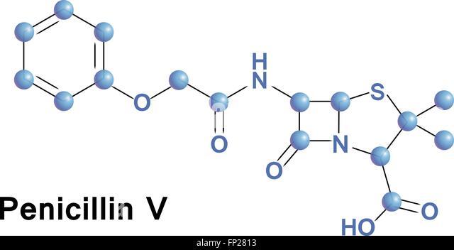 Phenoxymethylpenicillin stock photos for Penicillin v tablets