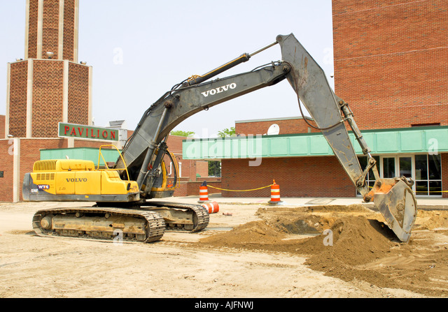 Excavator Hydraulic Arm Project : Arm bucket hydraulic excavator digging stock photos
