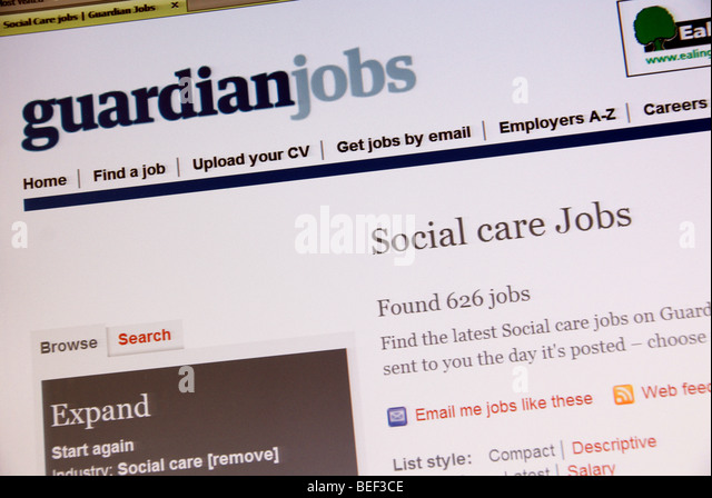 how to search for jobs on care com