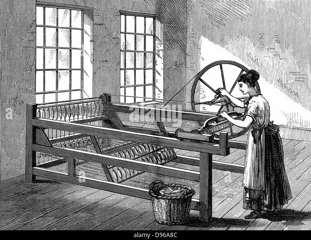 who invented the spinning machine