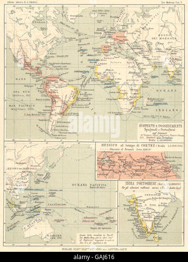 Portugal India Stock Photos Portugal India Stock Images Alamy - Portugal india map