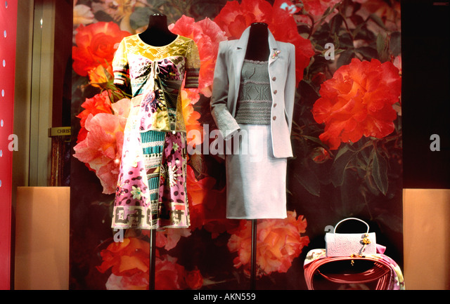 Paris shopping designer stock photos paris shopping designer stock imag - Boutique christian lacroix ...