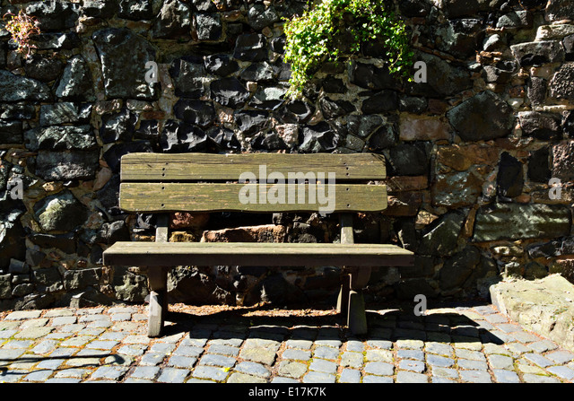 Creative Bench Against Brick Wall Stock Photo 139900414  Shutterstock