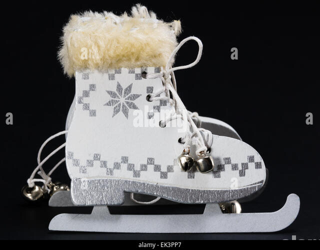 Ice Skate Boot Stock Photos & Ice Skate Boot Stock Images - Alamy