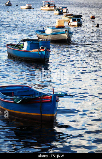Mediterranean commercial fishing boats stock photos for City island fishing boats
