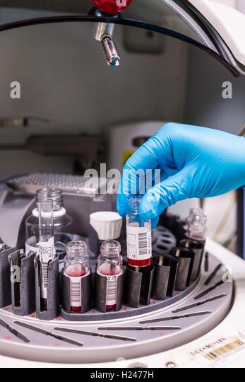 blood centrifuge machine