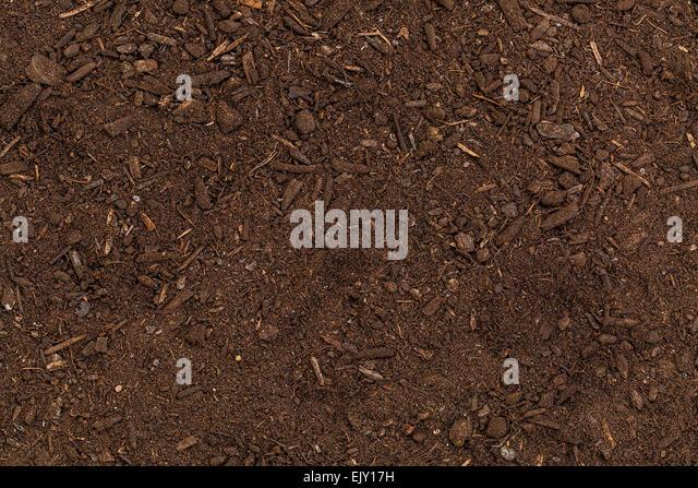 Wood chip garden stock photos
