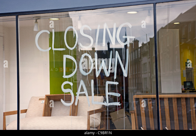 Closing down sale at furniture shop in Ipswich  Suffolk  UK    Stock Image. Furniture Sale Stock Photos   Furniture Sale Stock Images   Alamy