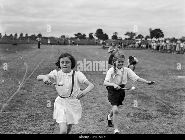 School Sports Black And White Stock Photos Amp Images Alamy