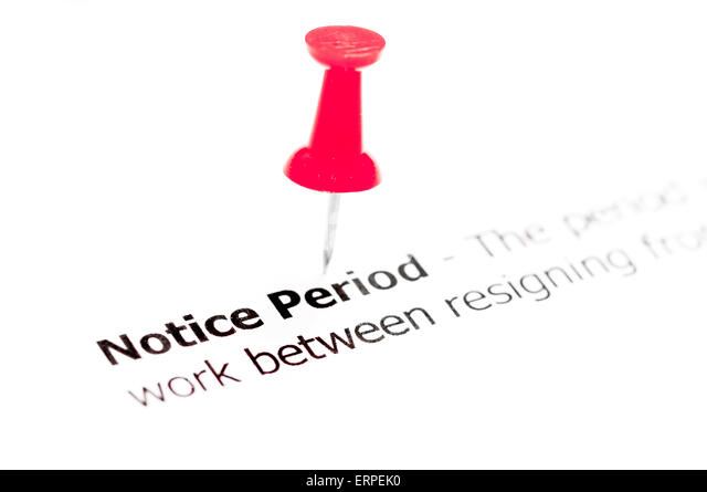 Notice Period Stock Photos & Notice Period Stock Images - Alamy