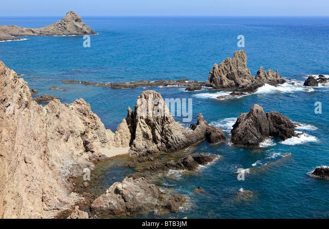 European geoparks network stock photos european geoparks for Cabo de gata spain