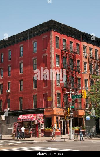 West village new york stock photos west village new york for Manhattan west village apartments