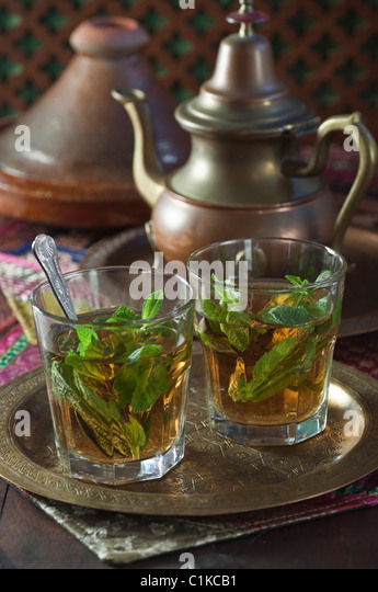Traditional North African Green Mint Tea Recipe — Dishmaps