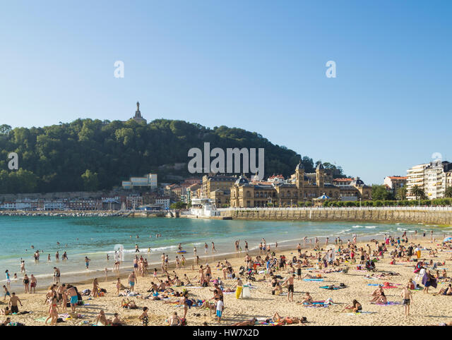 La Concha Beach Stock Photos & La Concha Beach Stock Images - Alamy
