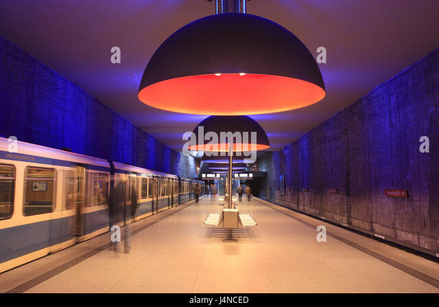 germany people subway station stock photos germany. Black Bedroom Furniture Sets. Home Design Ideas