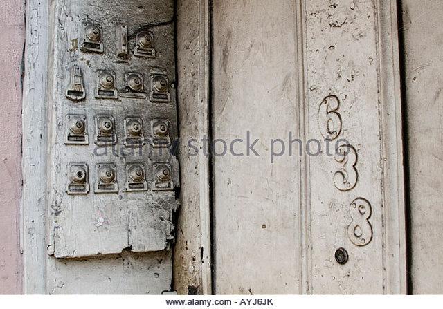 vintage door bell buzzer