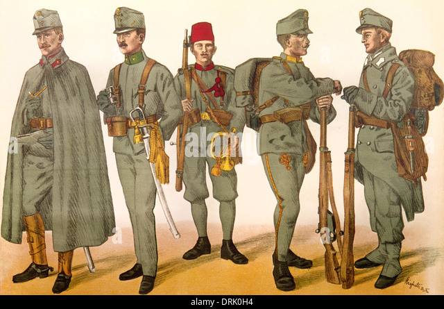 Wwi Soldier Infantry Uniform Stock Photos & Wwi Soldier Infantry ...