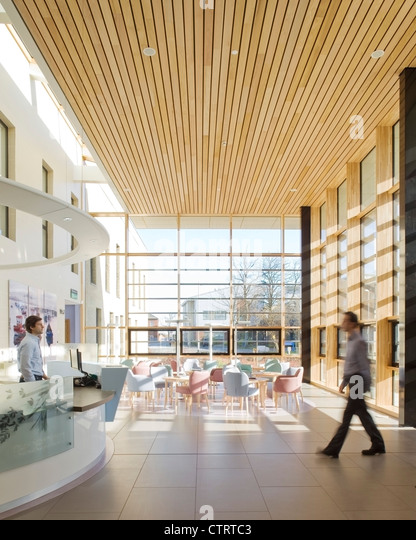 Nbbj Have Designed A New Oncology Centre At The James Cook University Hospital In Middlesbrough