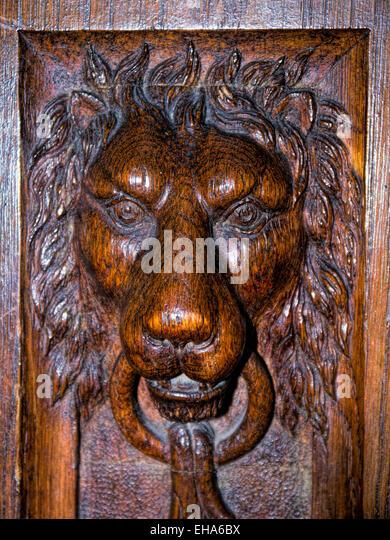 Intricate wood carving stock photos
