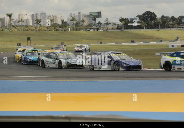 Goinia Go 01 04 2017 Brazilian Championship Stock Photos