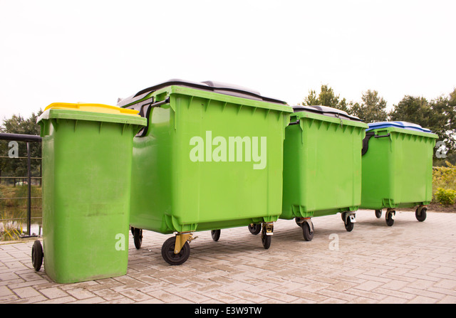 Municipal compost stock photos municipal compost stock images alamy - Garden waste containers ...