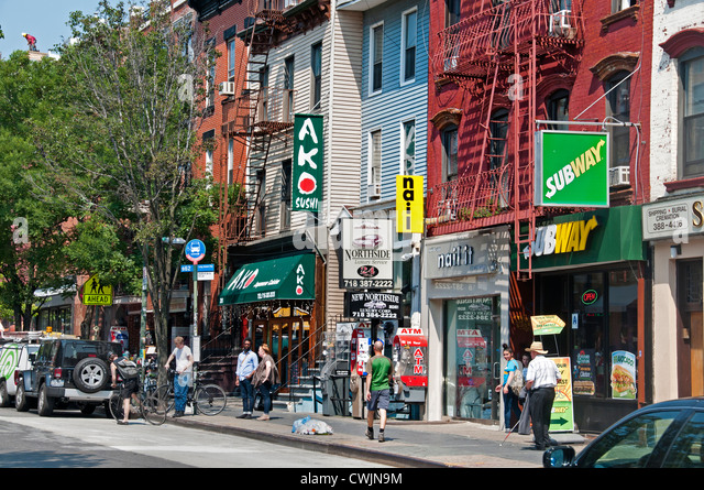 Bedford (IN) United States  city photos : Bedford Avenue Brooklyn Stock Photos & Bedford Avenue Brooklyn Stock ...