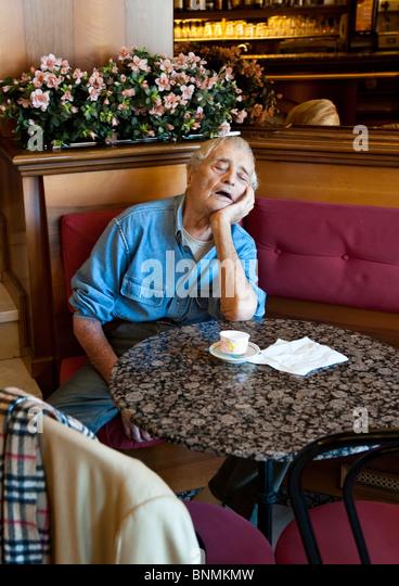Old Man Asleep Stock Photos Amp Old Man Asleep Stock Images