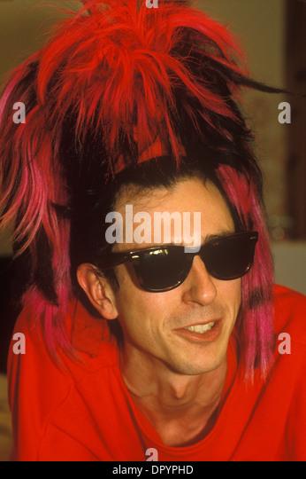 <b>Tony James</b> front man of the 1980s punk rock band Sigue Sigue Sputnik. - tony-james-front-man-of-the-1980s-punk-rock-band-sigue-sigue-sputnik-dpyphd