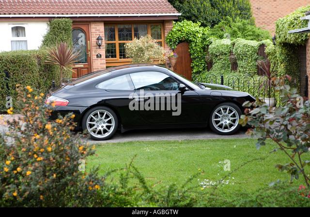house car garden automobile stock photos   house car luxury classic house interior luxury classic house exterior design