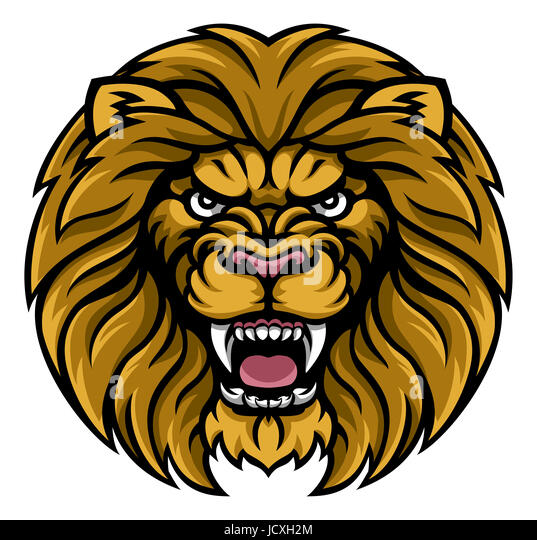 angry lion cut out stock images pictures alamy