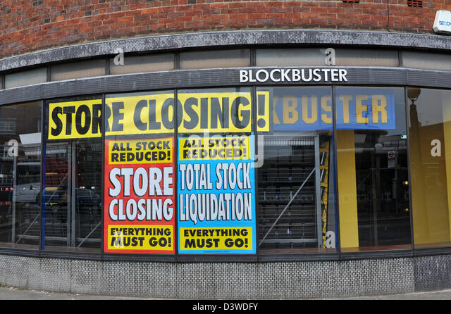 closing of blockbuster The days of going to the video store to pick up a vhs or dvd and some popcorn or candy are a distant memory for many, but today blockbuster announced the final nail in the coffin dish network corp, which acquired blockbuster in 2011, announced that it will be closing all of the remaining 300.