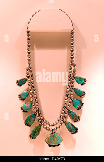 Millicent stock photos millicent stock images alamy for Turquoise jewelry taos new mexico