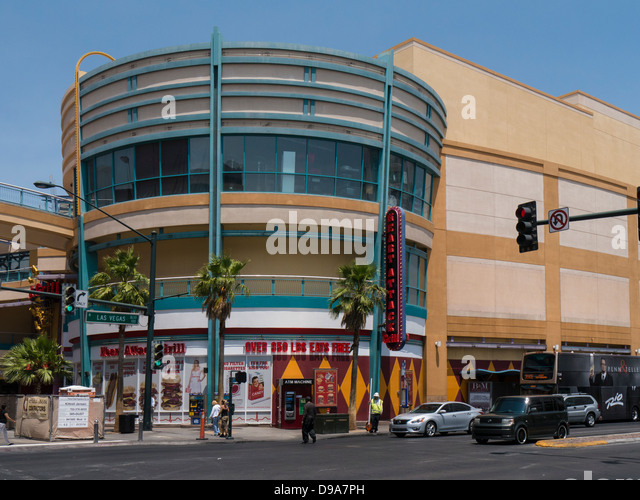The Heart Attack Grill In Fremont Street, Downtown Las Vegas   Stock Image