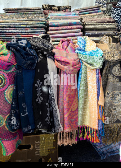 colourful scarves stock photos colourful scarves stock