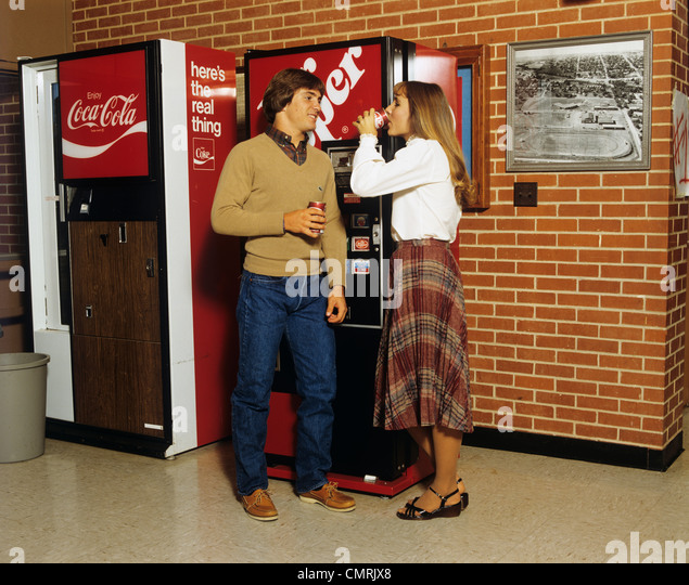 1980s coke machine