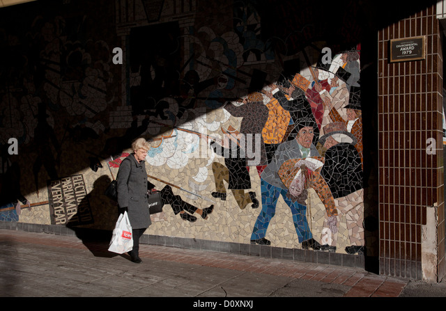 Chartist stock photos chartist stock images alamy for Chartist mural newport