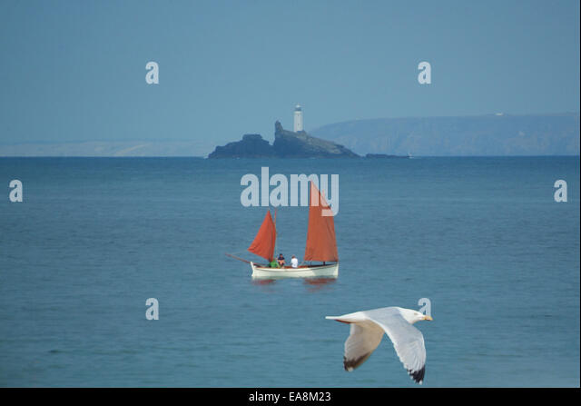 Cornish Lugger Stock Photos Amp Cornish Lugger Stock Images