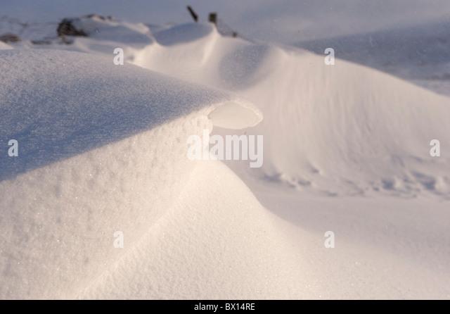 Snow Drift Granite : Wind drift stock photos images alamy