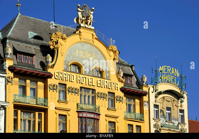 Meran stock photos meran stock images alamy for Hotel europa prague