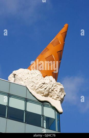 Claes Oldenburg Dropped Cone