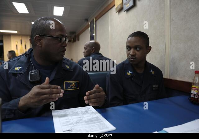 Chief petty officer training stock photos chief petty - Chief operating officer qualifications ...