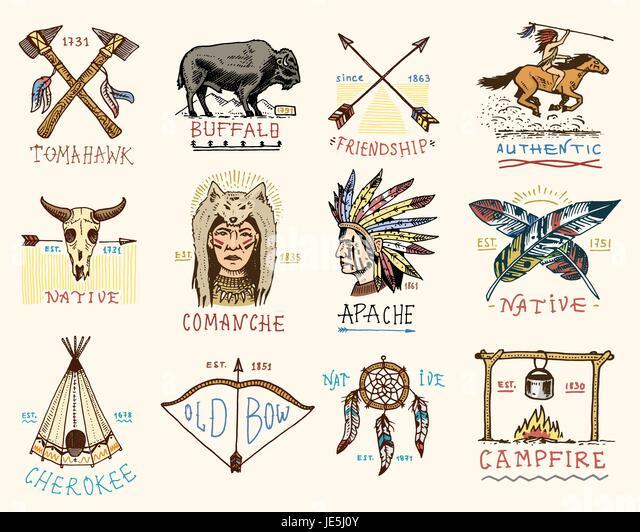Aztec Headdress Stock Vector Images Alamy
