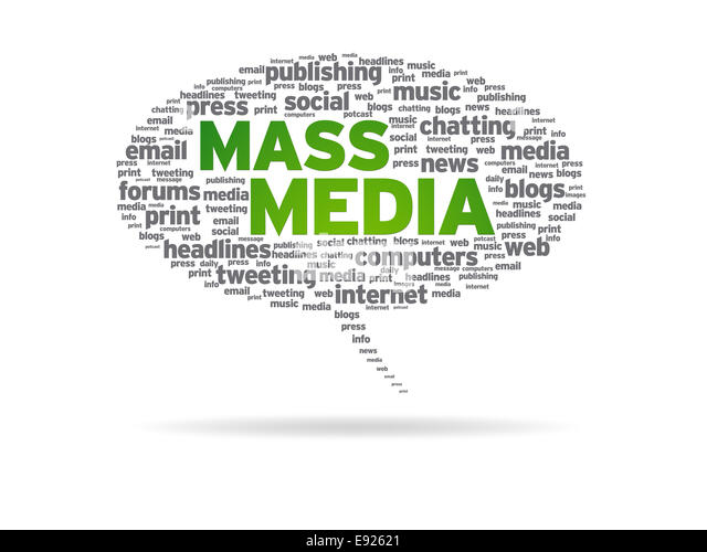 Mass Media Cut Out Stock Images & Pictures - Alamy