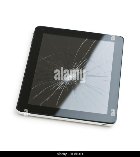 how to change a tablet broken screen